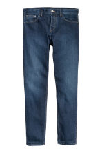 Slim Regular Tapered Jeans - 深牛仔蓝 - 男士 | H&M CN 2