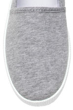 Slip-on trainers - Grey - Ladies | H&M CN 3
