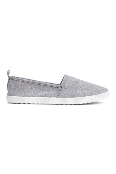 Slip-on trainers - Grey - Ladies | H&M CN 1
