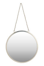 Round wall mirror - Silver - Home All | H&M CN 2