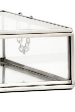 Large clear glass box - Silver - Home All | H&M CN 3