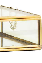 Large clear glass box - Gold - Home All | H&M CN 4
