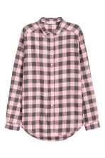 法蘭絨襯衫 - Light pink/Checked - Ladies | H&M 2