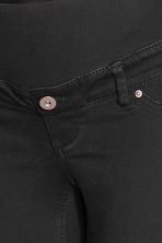 MAMA Twill shorts - Black - Ladies | H&M CN 4