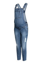 MAMA Denim dungarees - Denim blue - Ladies | H&M GB 2