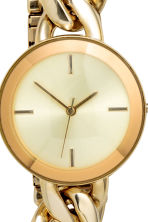 Watch - Gold - Ladies | H&M CN 3