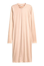 Jersey dress - Powder - Ladies | H&M CN 1