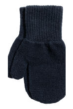 3-pack mittens - Dark blue -  | H&M IE 3