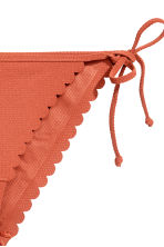 Tie tanga bikini bottoms - Rust - Ladies | H&M CN 3