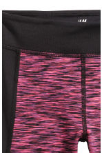 Sports tights - Pink marl - Kids | H&M CN 3