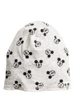 Jersey hat - Grey/Mickey Mouse - Kids | H&M CN 1