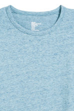 Long-sleeved T-shirt - Light blue marl - Men | H&M CN 3