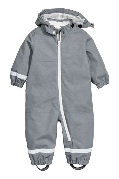 Shell all-in-one suit - Dark grey - Kids | H&M CN 1