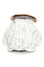 Padded jacket and trousers - Natural white/Grey - Kids | H&M CN 2