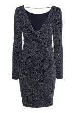 MAMA Glittery dress - Dark blue - Ladies | H&M CN 3