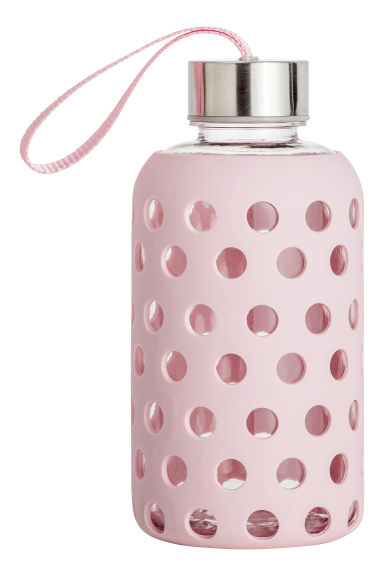 Water bottle - Light pink - Ladies | H&M CN 1
