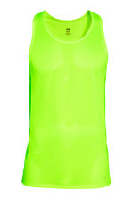 Ultra-light running vest - Neon green - Men | H&M CN 2