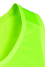 Ultra-light running vest - Neon green - Men | H&M CN 3