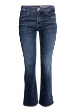 Shaping Boot cut Regular Jeans - Dark denim blue - Ladies | H&M CN 2