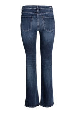 Shaping Boot cut Regular Jeans - Dark denim blue - Ladies | H&M CN 3