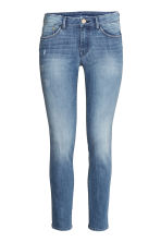 Slim Low Cropped Jeans - 牛仔蓝 - 女士 | H&M CN 2