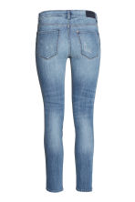 Slim Low Cropped Jeans - 牛仔蓝 - 女士 | H&M CN 3