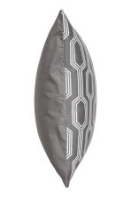 Jacquard-weave cushion cover - Grey/Patterned - Home All | H&M CN 2