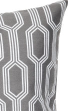 Jacquard-weave cushion cover - Grey/Patterned - Home All | H&M CN 3