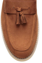 Tasselled loafers - Dark camel - Men | H&M CN 4