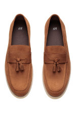 Tasselled loafers - Dark camel - Men | H&M CN 2