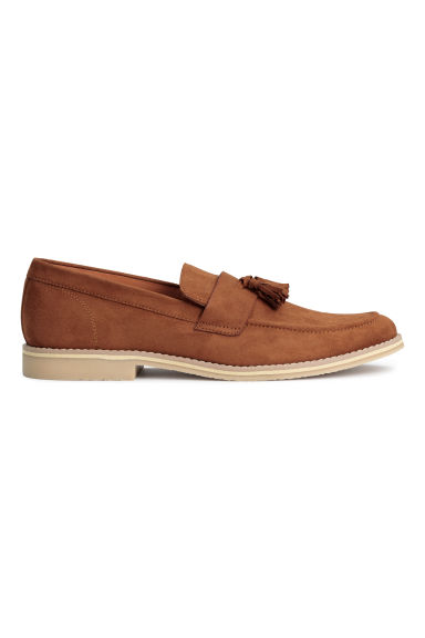 Tasselled loafers - Dark camel - Men | H&M CN 1