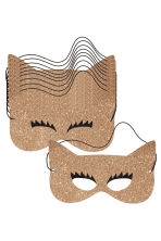 10-pack paper masks - Gold/Glittery - Home All | H&M CN 3