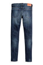 Skinny Low Jeans - Dark blue washed out - Men | H&M CN 3