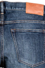 Skinny Low Jeans - Dark blue washed out - Men | H&M CN 4