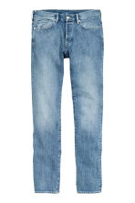 Slim Regular Selvedge Jeans - 浅牛仔蓝 -  | H&M CN 2