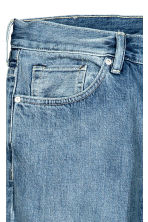 Slim Regular Selvedge Jeans - Light denim blue -  | H&M CN 4