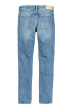 Slim Regular Selvedge Jeans - Light denim blue -  | H&M CN 3