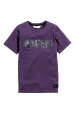 Printed T-shirt - Translucent - Kids | H&M CN 2