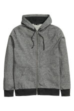 Hooded jacket - Grey marl - Men | H&M 2