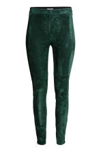 Treggings - Dark green - Ladies | H&M CN 2