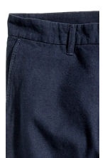 Cropped chinos - Dark blue - Men | H&M CN 4