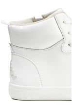 Hi-top trainers - White -  | H&M CN 5