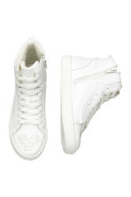 Hi-top trainers - White -  | H&M CN 3