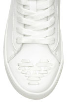 Hi-top trainers - White -  | H&M CN 4