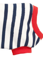 Striped dog sweatshirt - White/Striped - Ladies | H&M GB 3