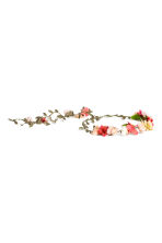 Hair decoration with flowers - null - Ladies | H&M CN 1