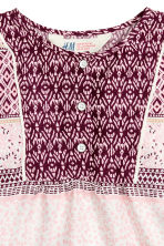 Patterned blouse - Burgundy - Kids | H&M GB 3