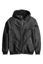 Hooded jacket - Black -  | H&M CN 2