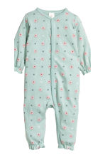 2-pack all-in-one pyjamas - Light pink/Floral - Kids | H&M CN 2