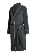 MAMA Jersey dressing gown - Dark grey -  | H&M CN 2